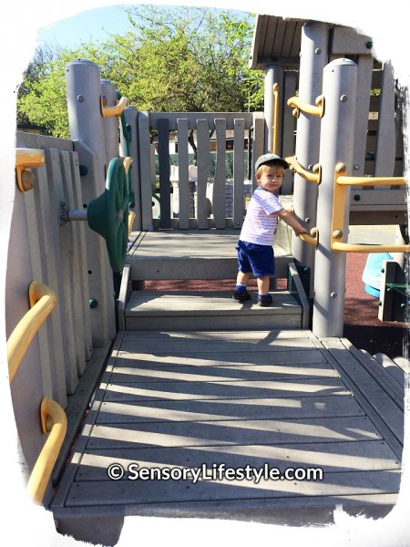 Sensory Lifestyle: Playground fun
