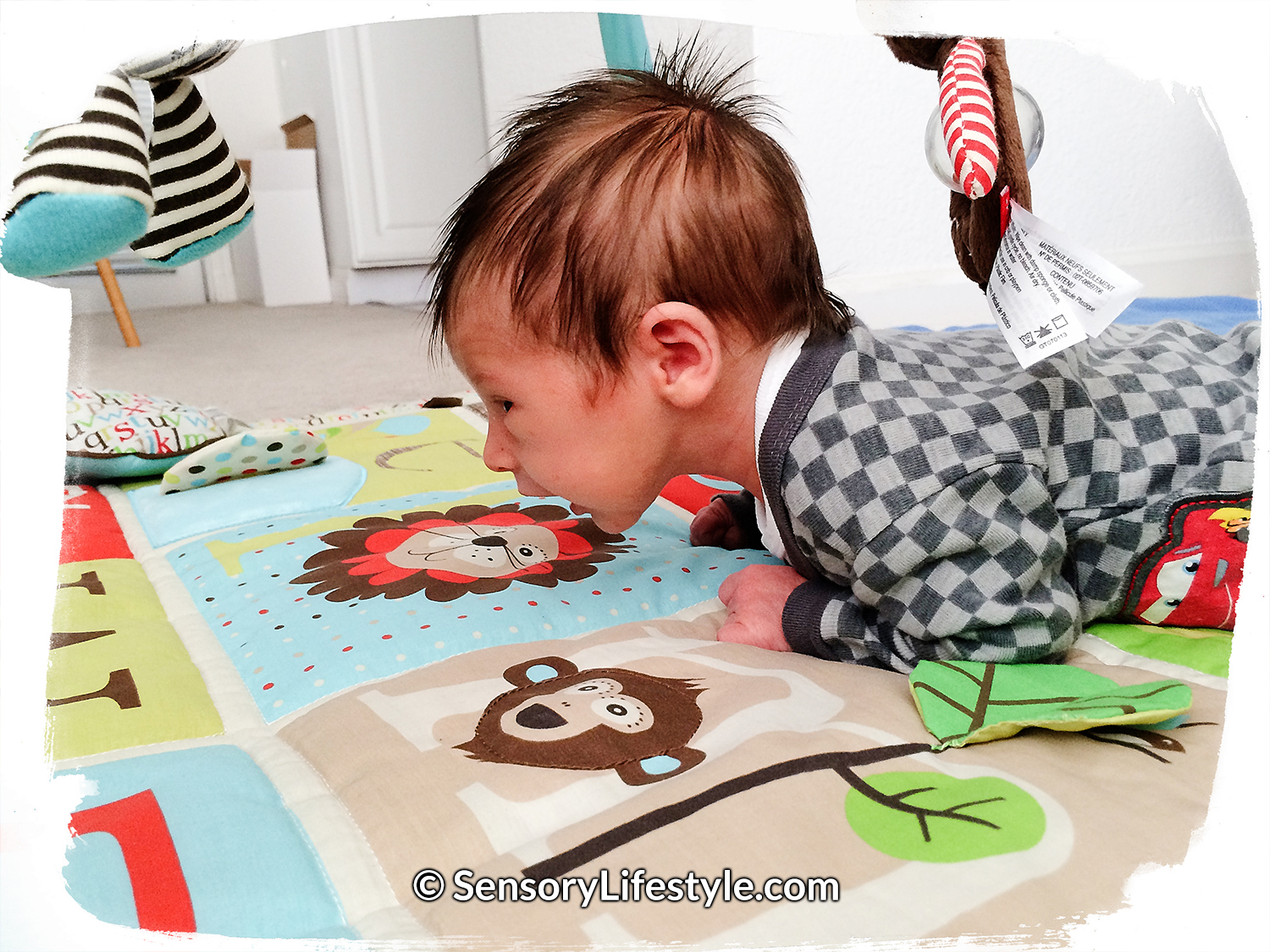 Sensory lifestyle - Tummy time