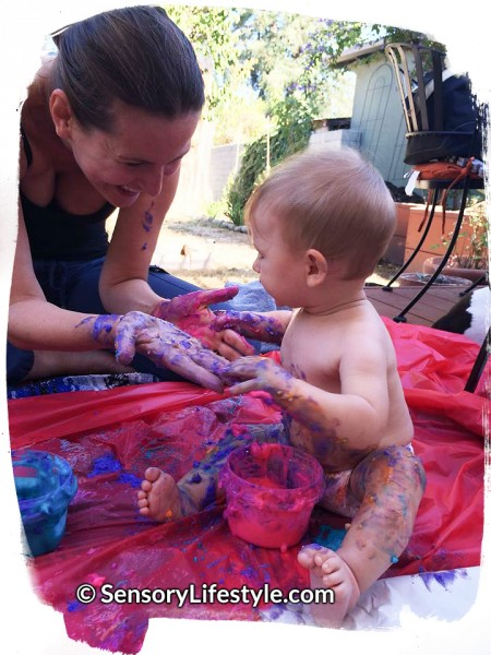 Sensory Lifestyle: Nothing better than some messy time