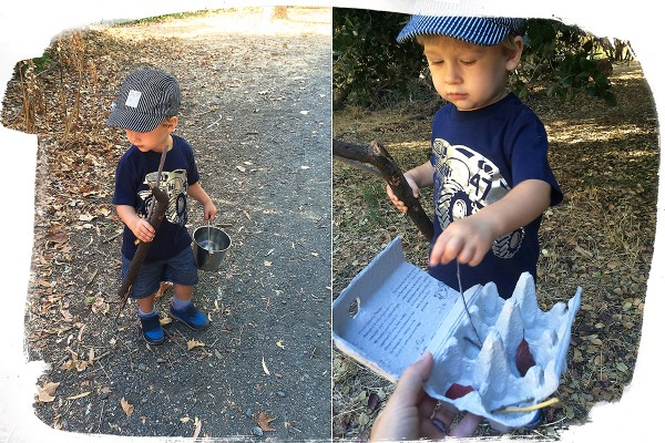 19 month old toddler activities: Treasure hunt