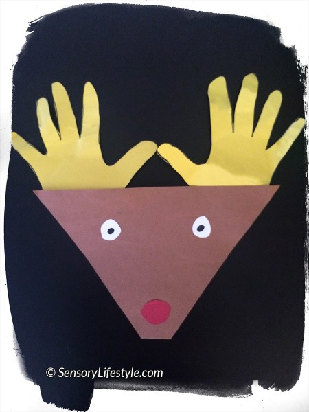 Christmas activities: Raindear craft