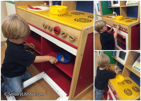 22 month toddler activities: Kitchen fun