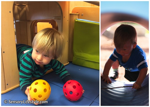 11 month baby activities:Crawling with treasure