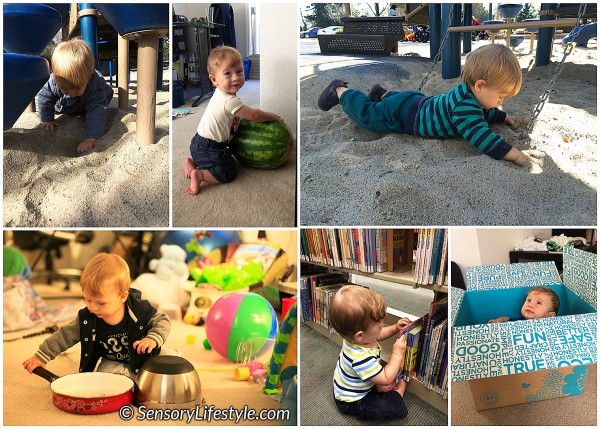 10 month baby activities: Exploration at 10 months