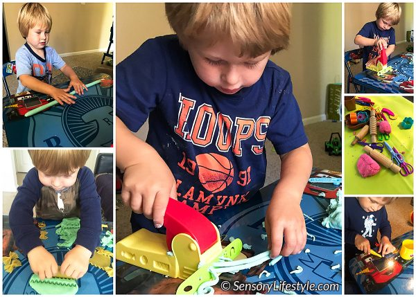 Fine motor development: Bilateral coordination