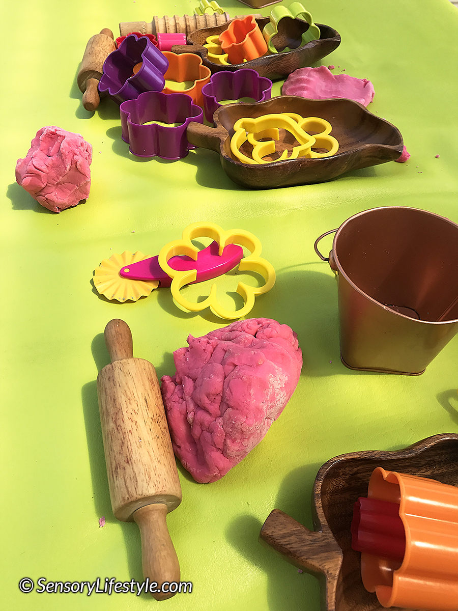 Edible Play Dough Recipe for the little ones