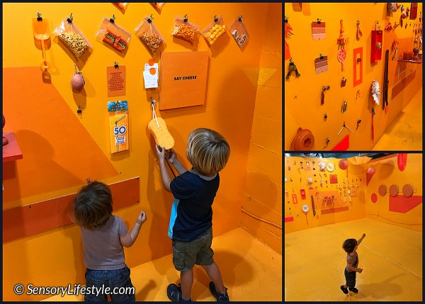 Color Factory: Orange room