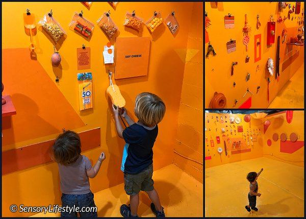 Color Factory: Orange room