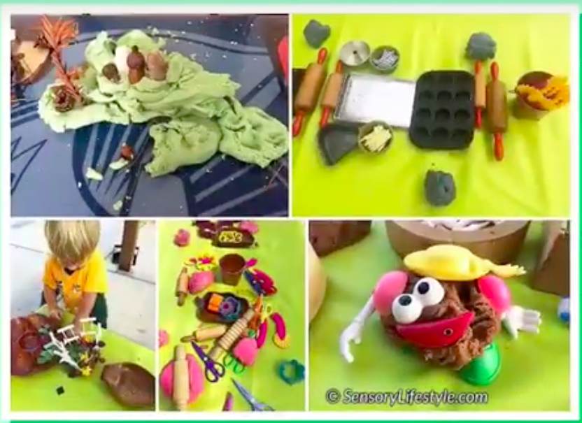 Surprising benefits of Play Dough