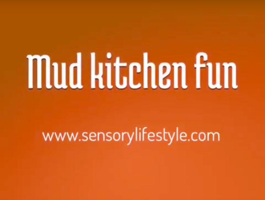 Mud Kitchen Fun for toddler