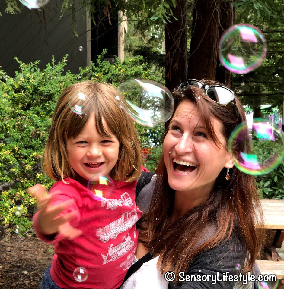 Hand eye coordination: Developmental benefits of bubbles