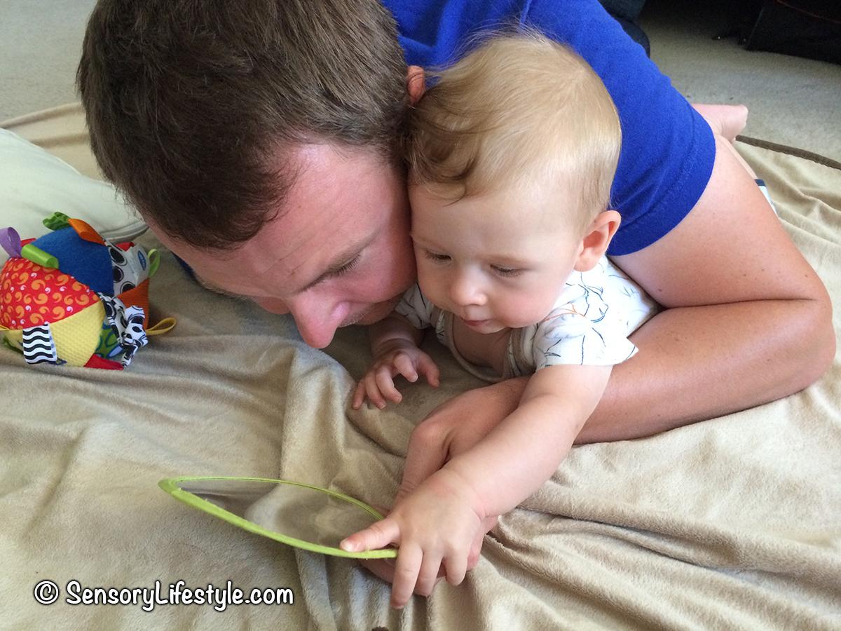 Indoor activities for babies- floor play