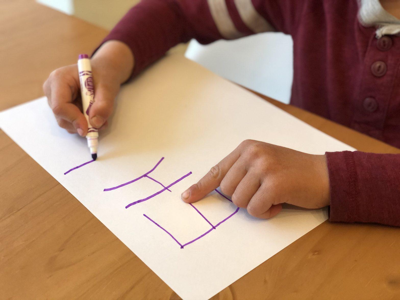 Preschooler Development : Teaching Handwriting to your Child